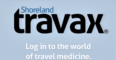 Shoreland Travax - Log in to the world of travel medicine.